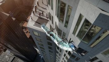 Discover Los Angeles With Thrilling Glass Slide At 1,000 Feet Above The City