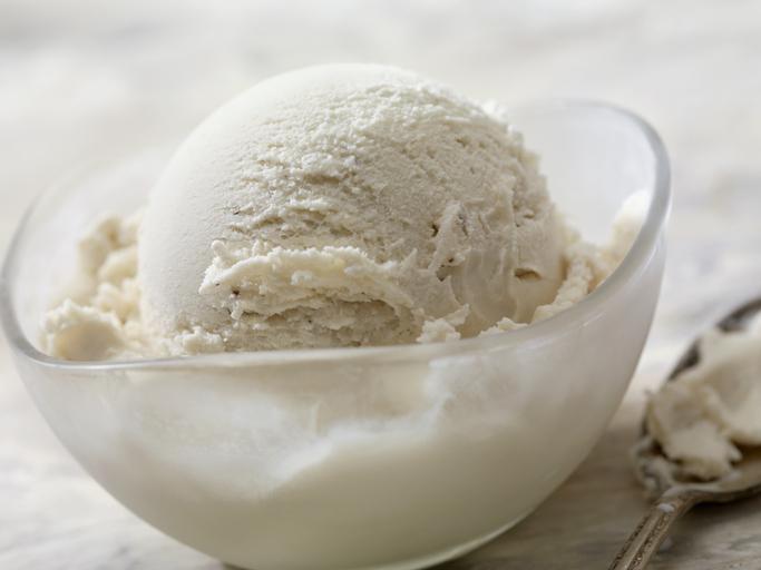 Dairy Free, Vegan Coconut Milk Vanilla Ice Cream
