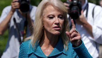 White House Advisor Kellyanne Conway Speaks To Media