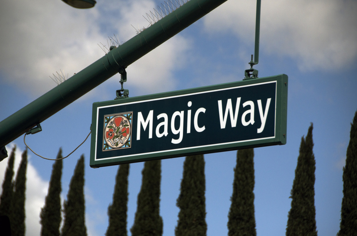 Magic Way street sign