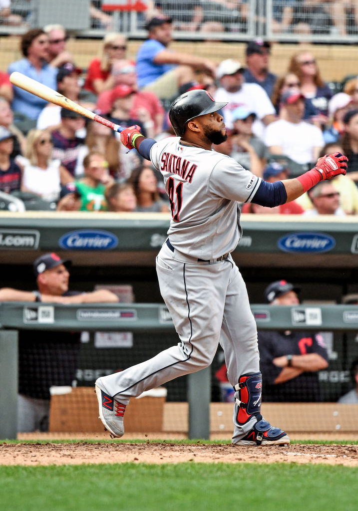 MLB: AUG 11 Indians at Twins