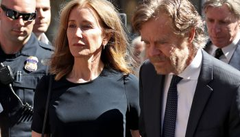 Felicity Huffman Arrives at Federal Court