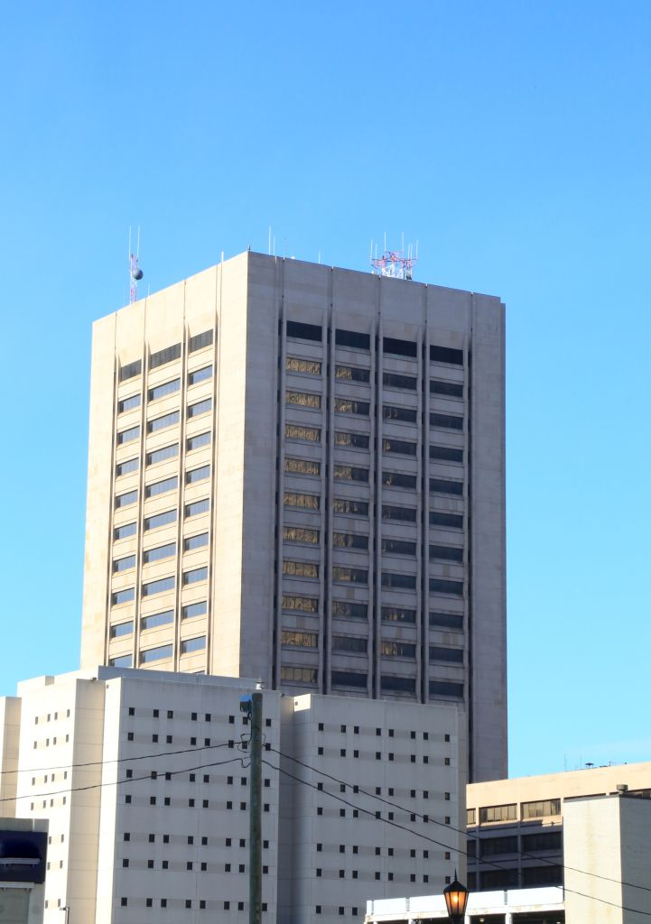 Justice Center Complex and prison, Cleveland, Ohio, United States