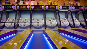 Skee-Ball in Las Vegas