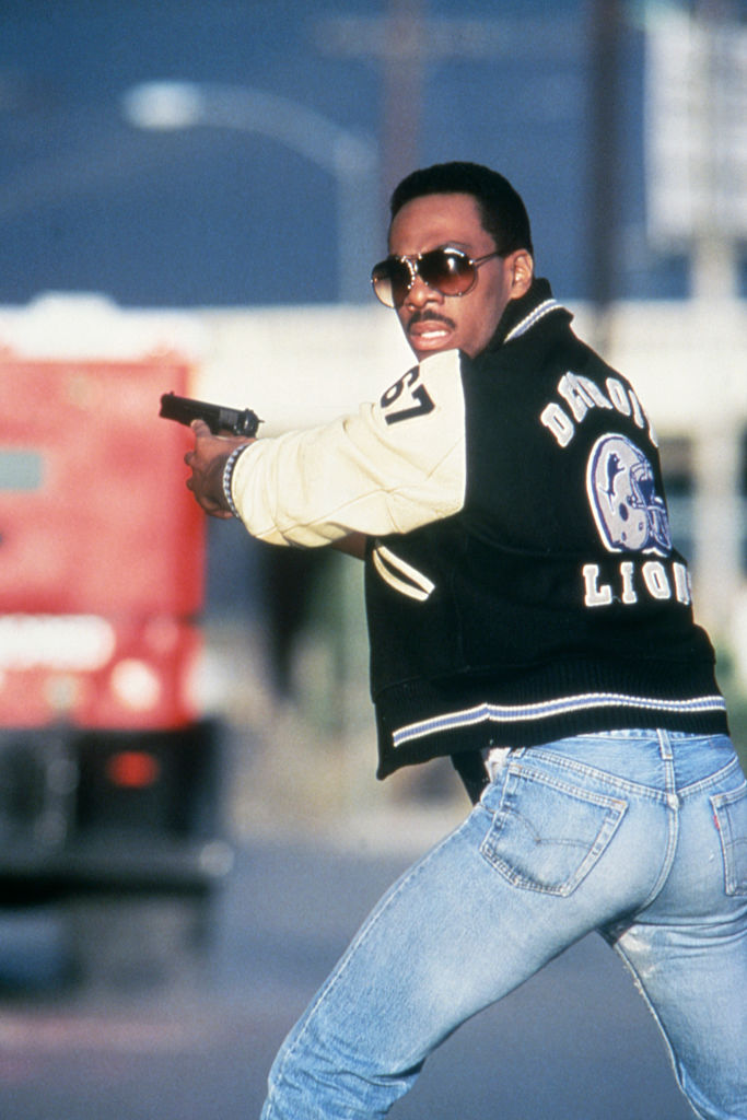 On the set of Beverly Hills Cop II