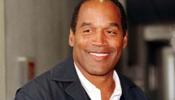 OJ Simpson arrives at Heathrow airport