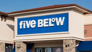 Five Below store...