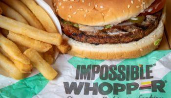 Burger King Begins Selling Meatless Whopper Across U.S.