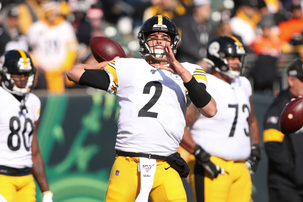 NFL: NOV 24 Steelers at Bengals