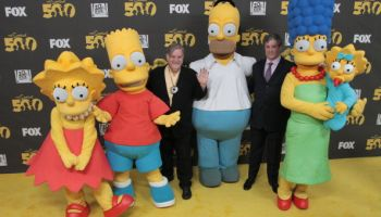 "FOX's ""The Simpsons"" 500th Episode Celebration - Arrivals"