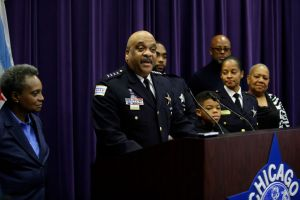 Chicago Police Superintendent Eddie Johnson Announces His Retirement