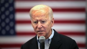 "Presidential Candidate Joe Biden Continues ""No Malarkey"" Bus Tour Through Iowa"