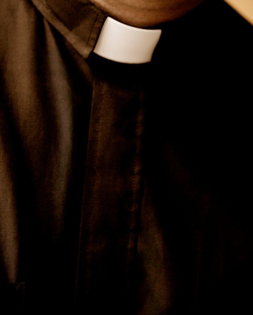 Man in Clerical Collar