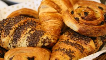 Selection of breakfast pastries