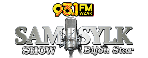 WZAK SAM SYLK SHOW WITH BIJOU STAR LOGO