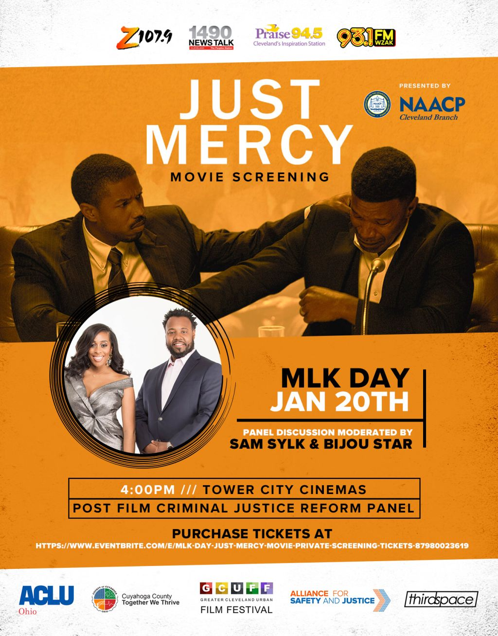 Just Mercy Movie Screening