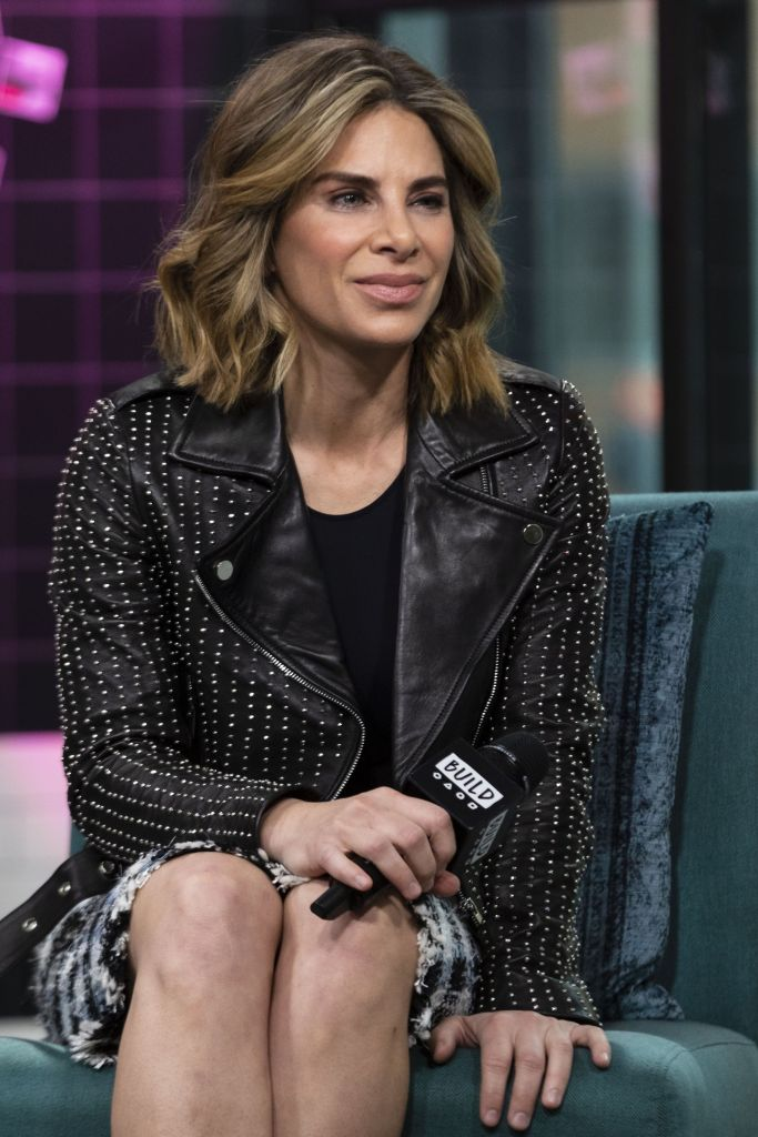 Jillian Michaels inside for AOL Build Se...