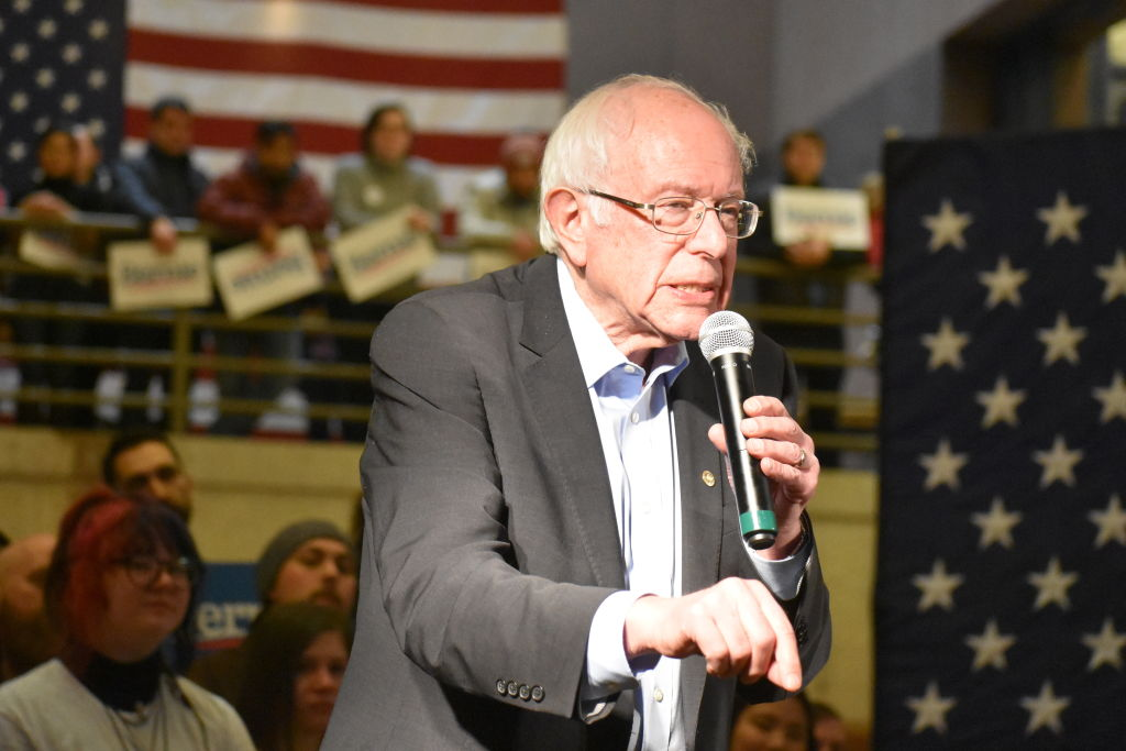 Senator Bernie Sanders in Des Moines
