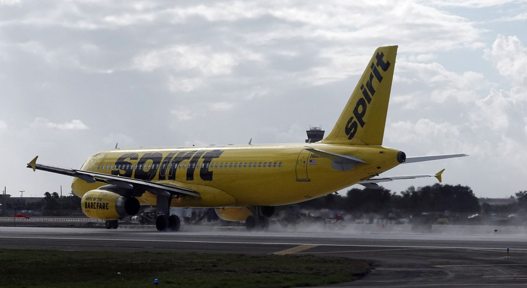 Woman on Spirit Airlines flight: Passenger put hand in my pants while I slept