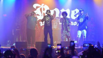 Bone Thugs-N-Harmony In Concert - Fort Lauderdale