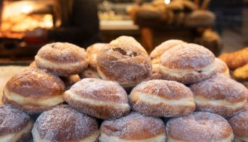 Doughnuts Display In London