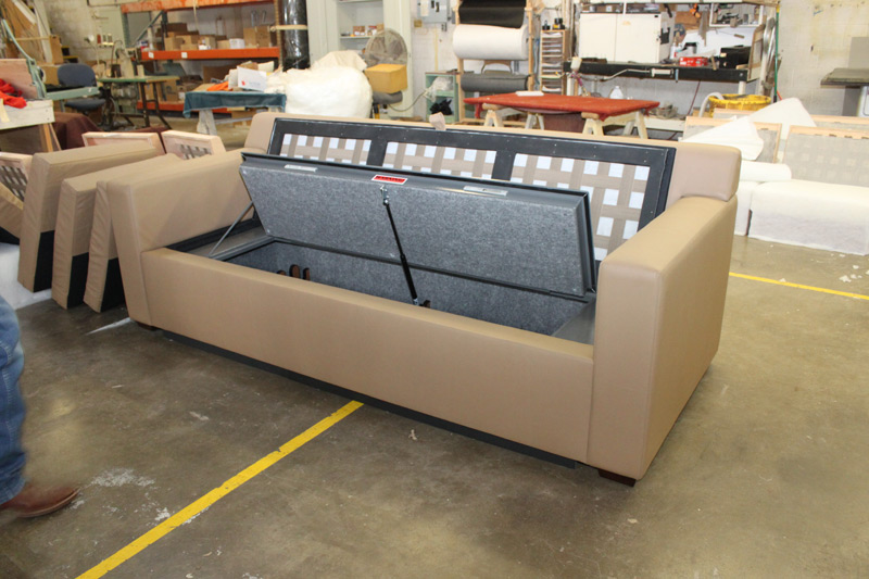 Worlds' First Bullet-Proof Couch