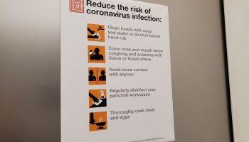 Coronavirus Warning
