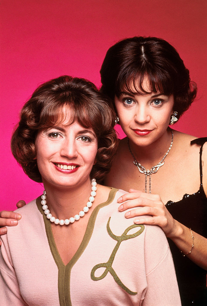 Penny Marshall and Cindy Williams