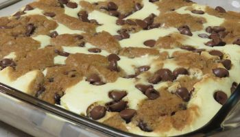 Chocolate Chip Cookie Dough Cheesecake Recipe