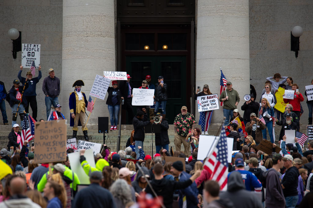 Protest outside the Ohio statehouse