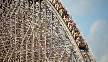 Large Roller Coaster at Cedar Point