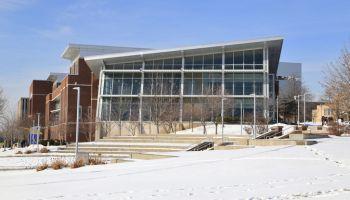University of Akron Campus, Student Union Building, Akron, Ohio, USA