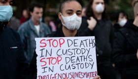 NEWS: JUN 02 Sydney Black Lives Matter Protest