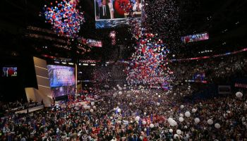 Balloon Drop At The RNC