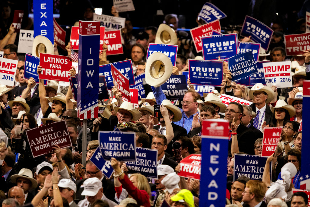 Delegates At The RNC