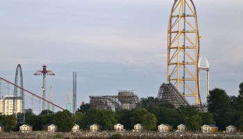 Amusement Park, Cedar Point Amusement Park, Sandusky, Ohio, USA
