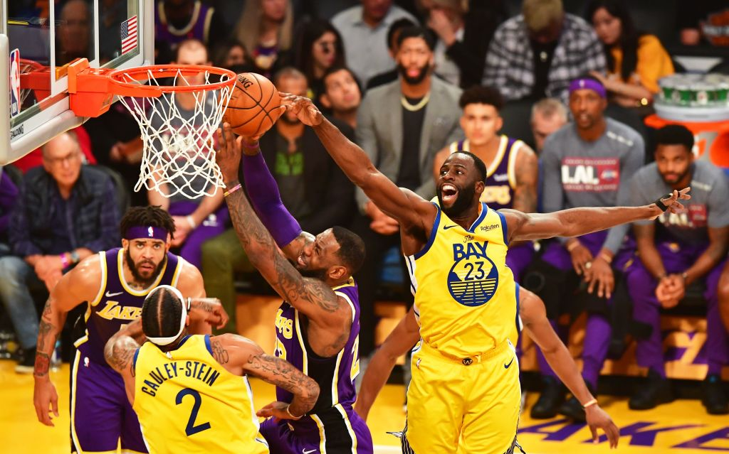 BASKET-NBA-LAKERS-WARRIORS
