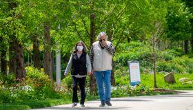 Coronavirus Reopening Cincinnati, Ohio And Louisville