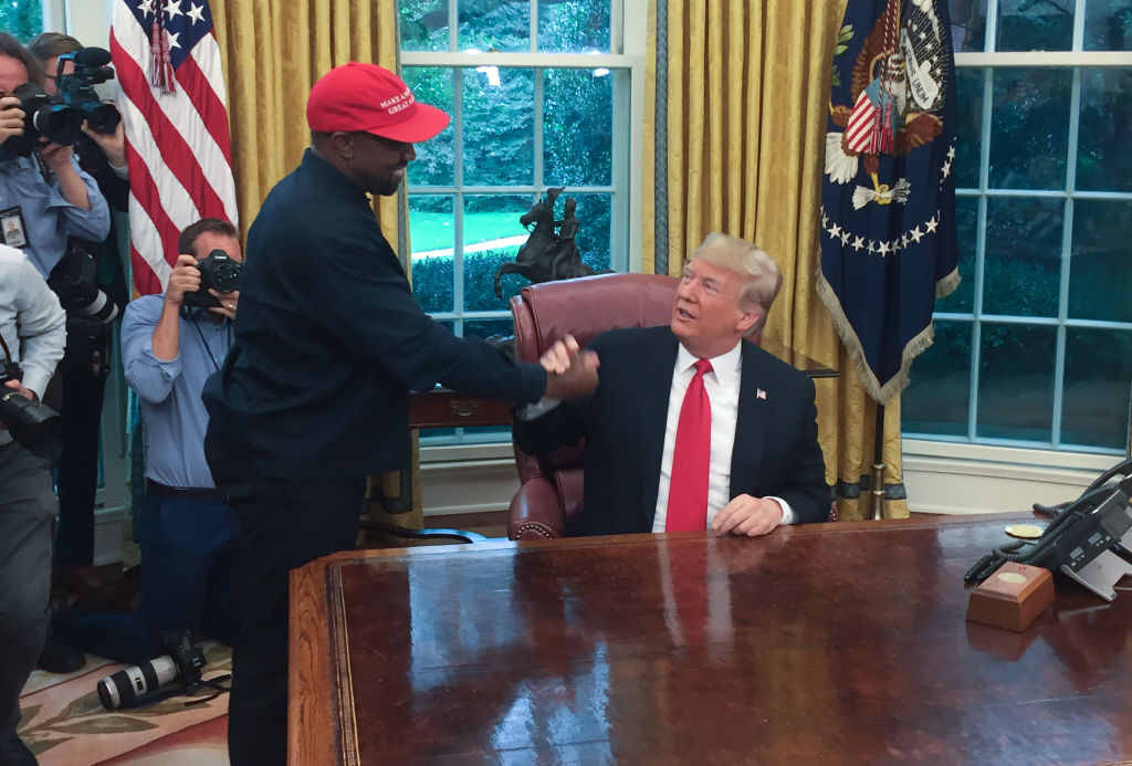 FILES-US-ENTERTAINMENT-POLITICS-ELECTION-KANYE