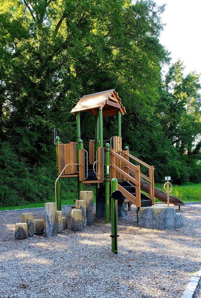Empty Playground In Park