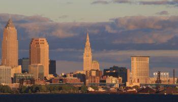 Downtown Cleveland Skyline