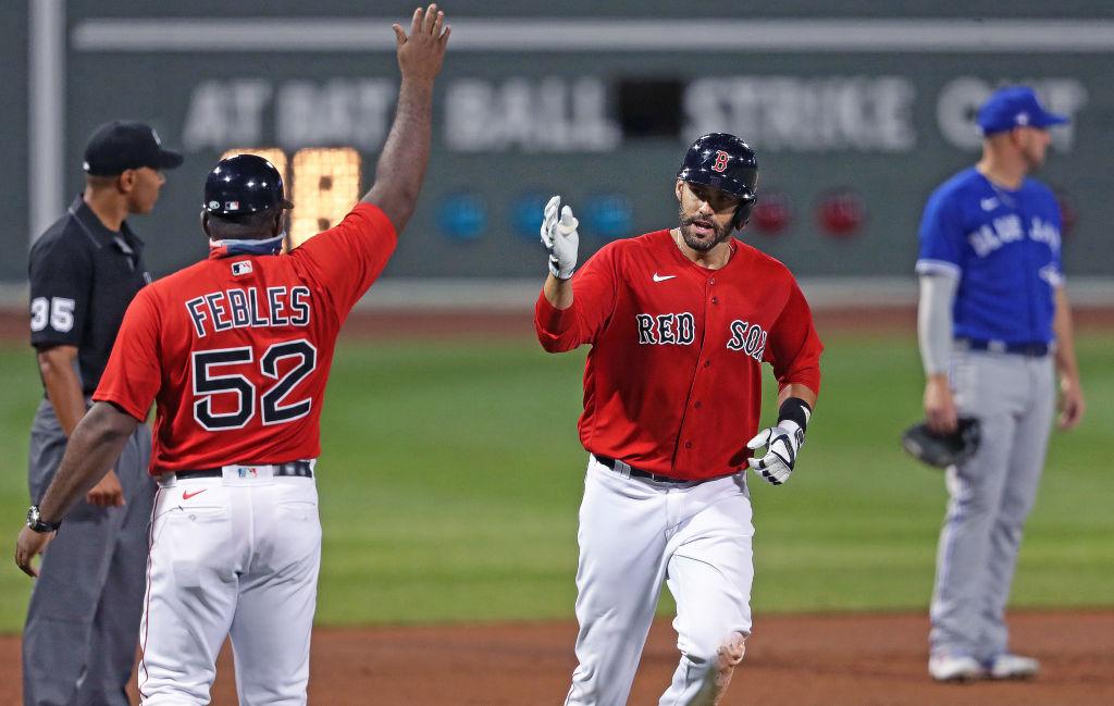 Toronto Blue Jays Vs. Boston Red Sox at Fenway Park