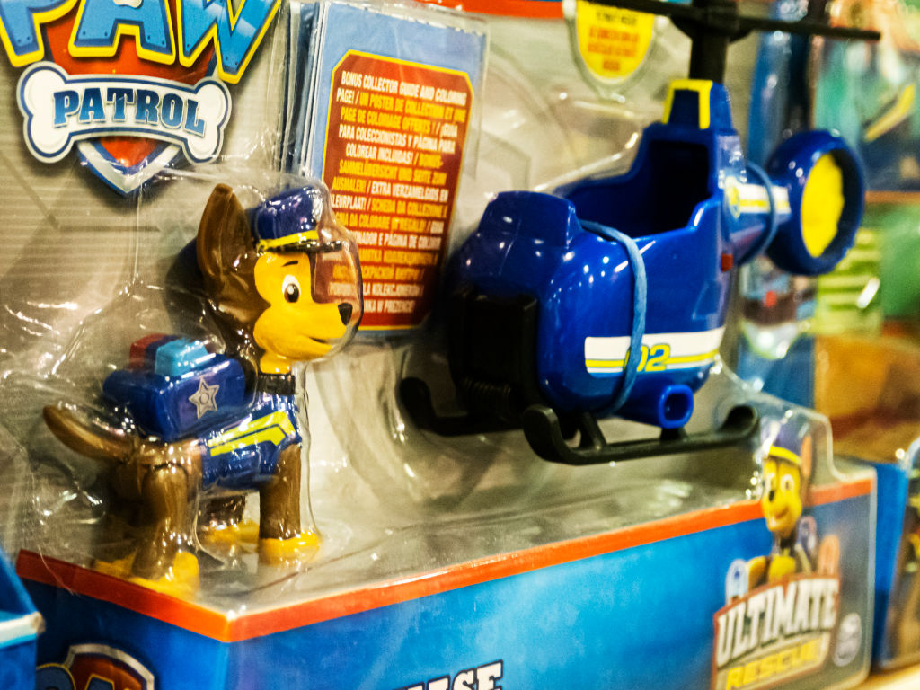 Paw Patrol Ultimate Rescue - Chase Mini Helicopter will help...