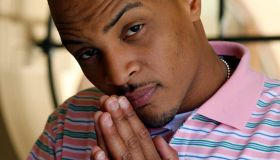 "Rapper–turned–actor T.I. about his performance in the movie ""Takers"", is photographed at the Montag"