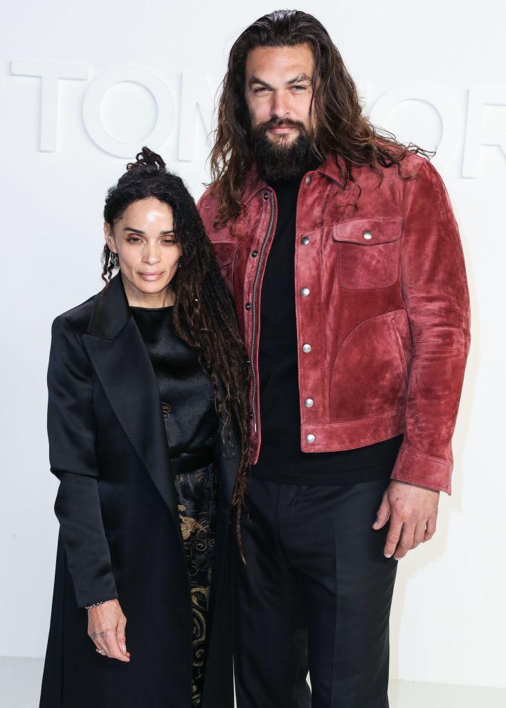 Lisa Bonet and Jason Momoa arrive at the Tom...