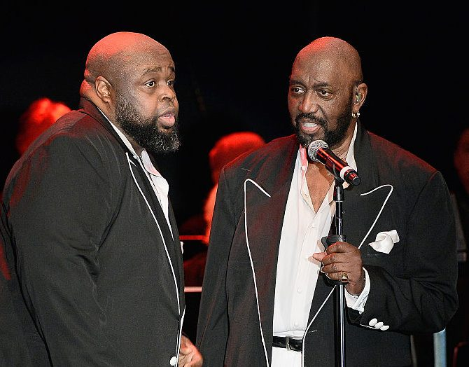 The Temptations Perform At The Canyon Club