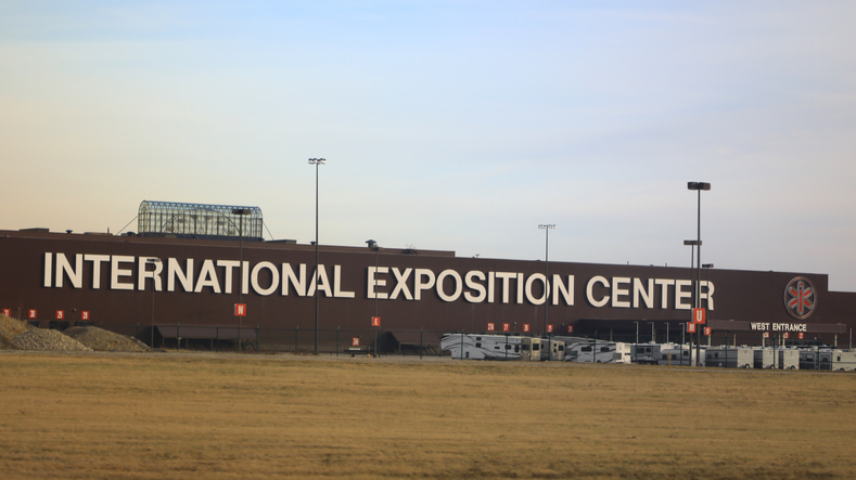 The International Exposition Center, (I-X Center)