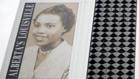 Unveiling Of Banner Honoring Slain Civil Rights Attorney In Louisville