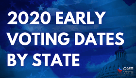 2020 Early Voting Dates By State For Presidential Election