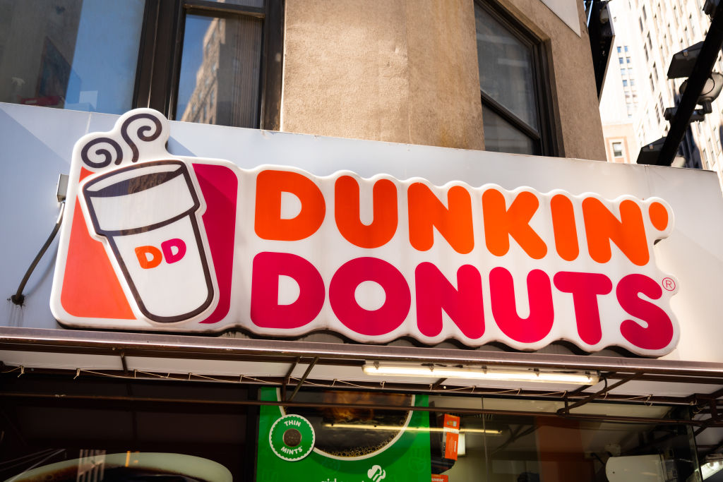 American multinational coffeehouse and donut company, Dunkin...